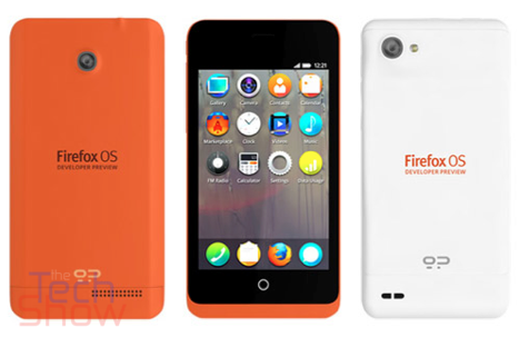 Alcatel Firefox OS device