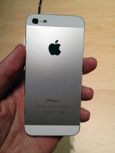 iPhone 5 Sides