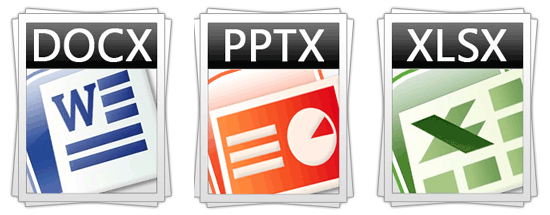 Office file formats