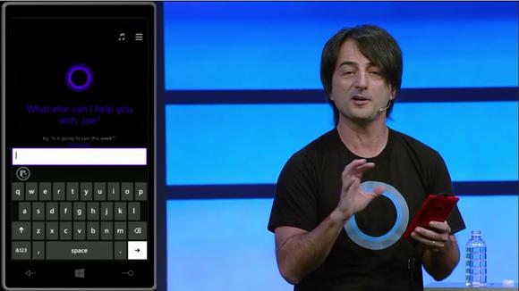 Joe Belfiore showing off Cortana