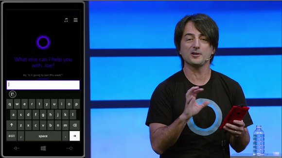 Joe Belfiore showing off Cortana