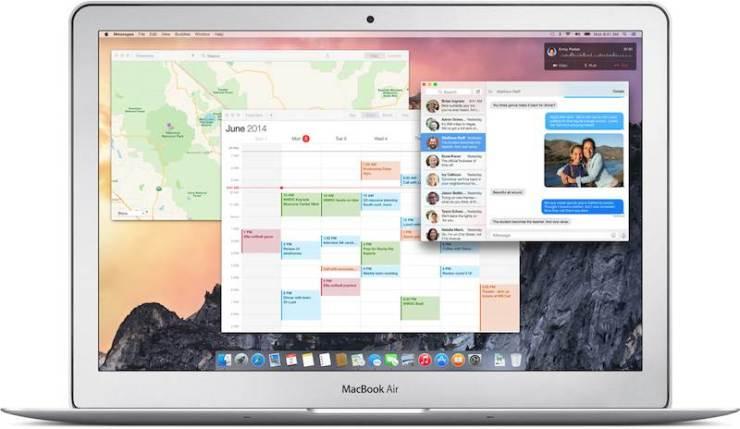 OS X Yosemite MBA