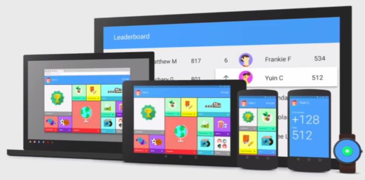 Material Design UI Android L