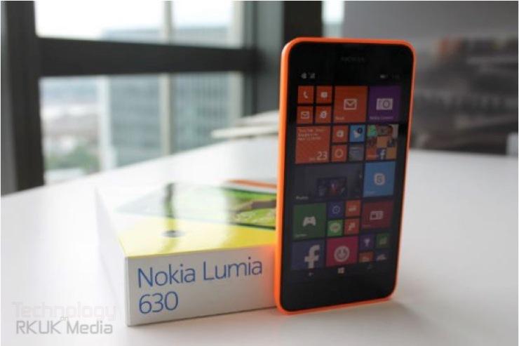 Lumia 630 635 box
