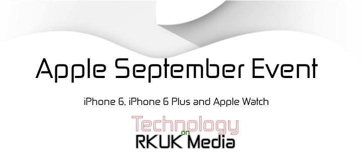 Apple September Event 2014 Banner