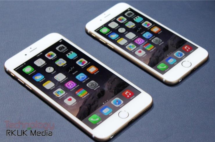 iPhone 6 iPhone 6 Plus Apple Event Pic