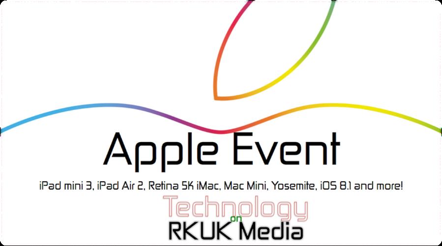Apple October Event 2014
