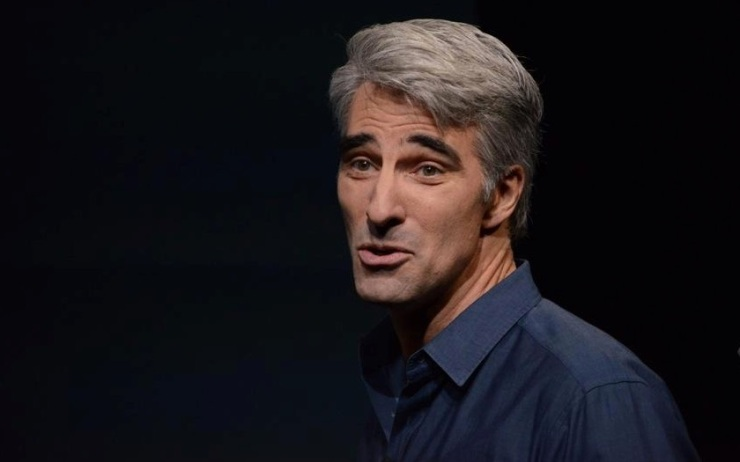 We, for some reason, felt compelled to use this picture of Craig Federighi
