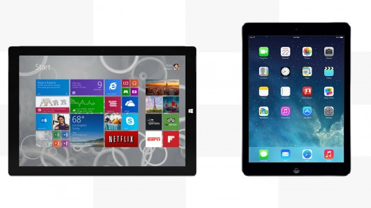 Apple iPad Surface Pro 3