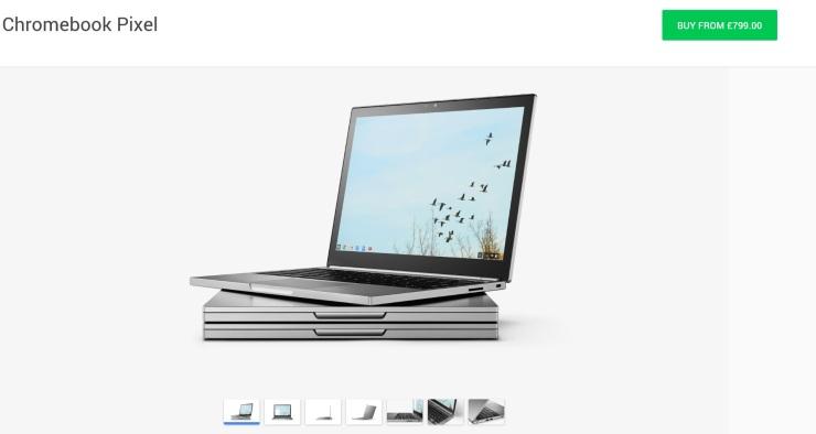 Chromebook Pixel 2015