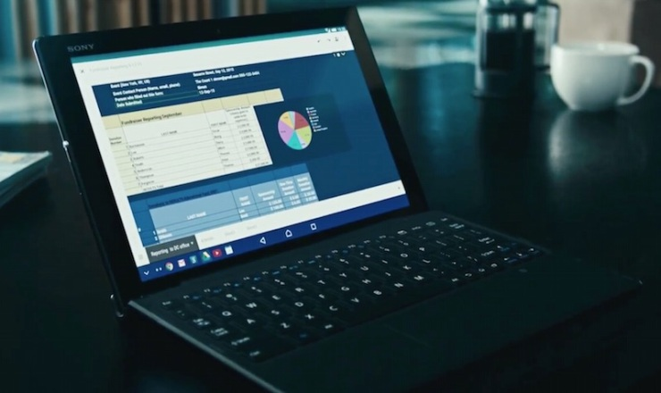 Xperia Z4 Tablet Keyboard Dock