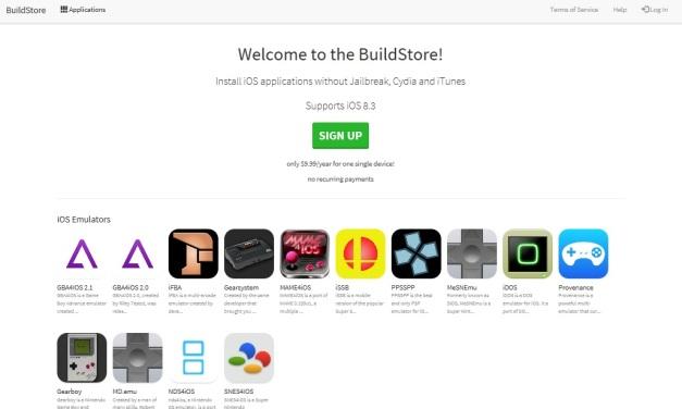 BuildStore Webpage