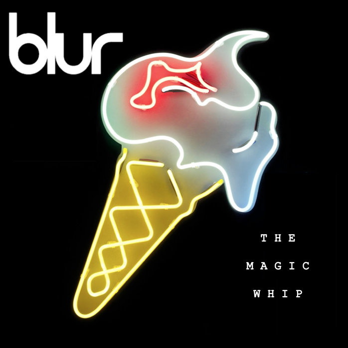 English text version of The Magic Whip album cover