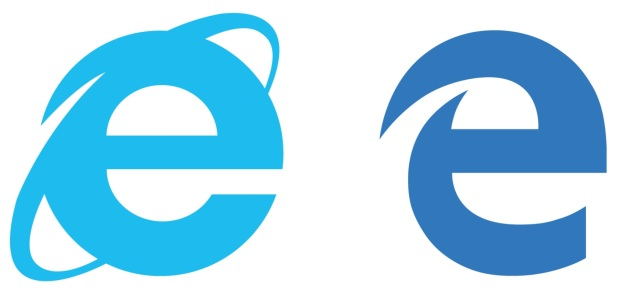 Microsoft Edge and IE logo