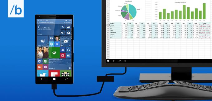 Continuum for Windows 10 Phones