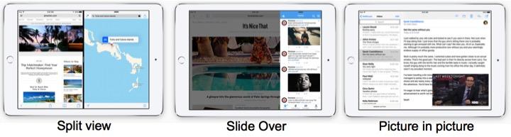 iPad Multitasking iOS 9