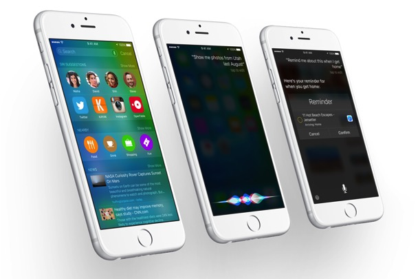 New Search in iOS 9 and Siri UI