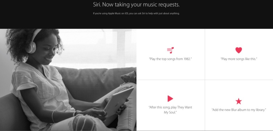 Siri Apple Music iOS