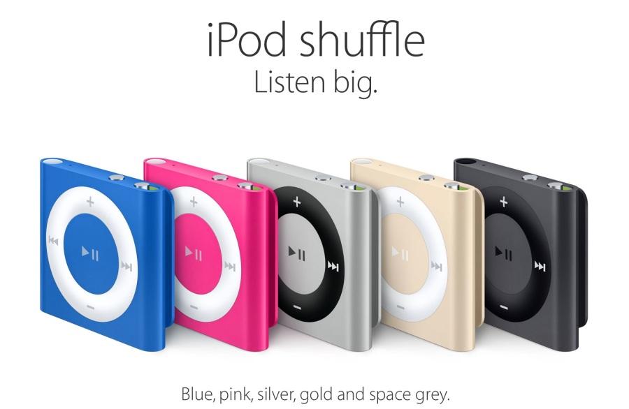 iPod shuffle 2015