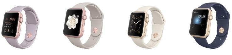New Apple Watch materials