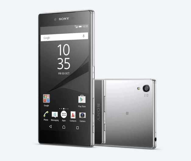 Chrome variant of the Xperia Z5