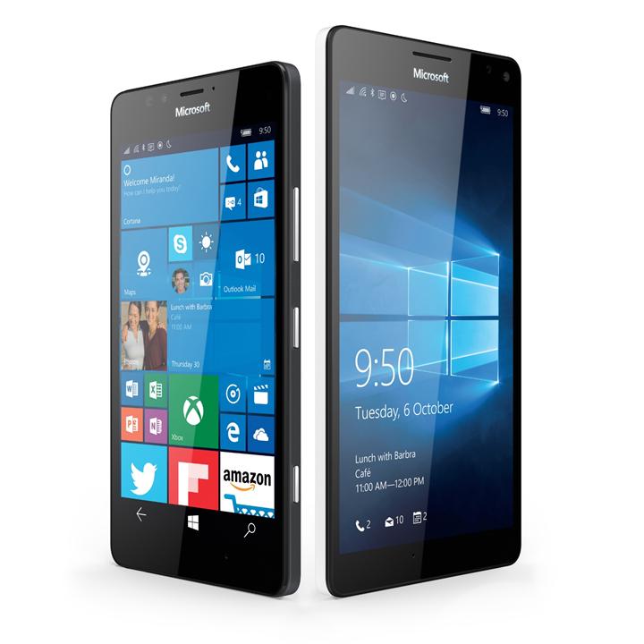 Lumia 950 and XL