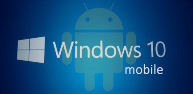 Windows 10 with Android sneak