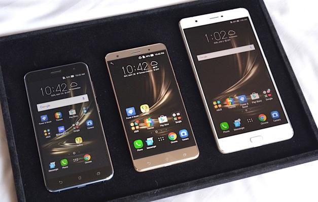 ASUS Zenfone 3 lineup