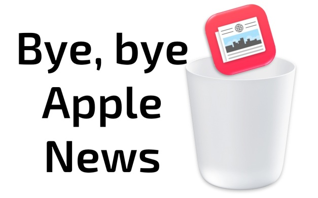 Bye bye Apple News