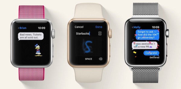Scribble watchOS