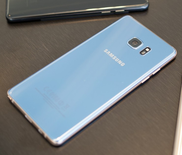 Galaxy Note 7 Coral Blue
