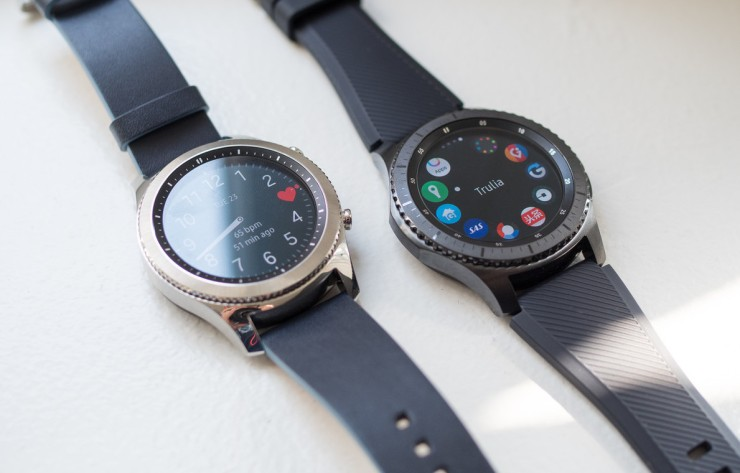 Samsung Gear S3 Frontier and Classic