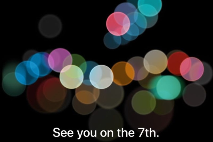 See you on the 7th Apple