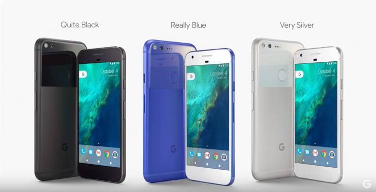 Pixel Phone Colours