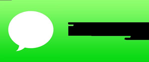 Apple iMessage. © Apple Inc