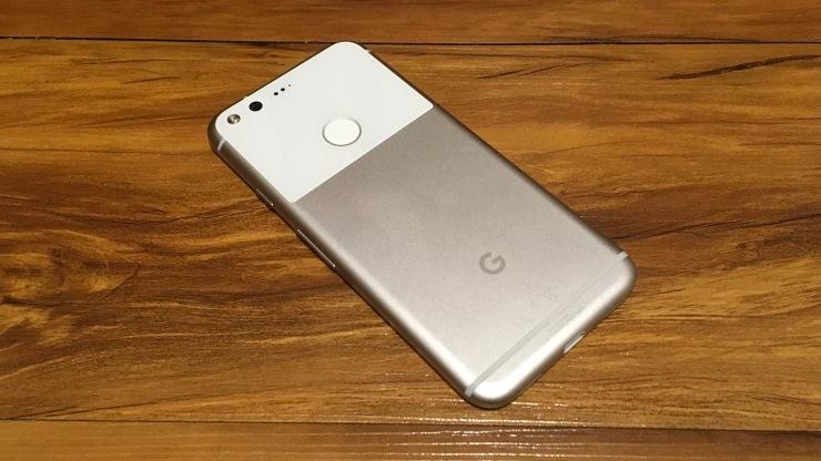 Google Pixel Back Shot