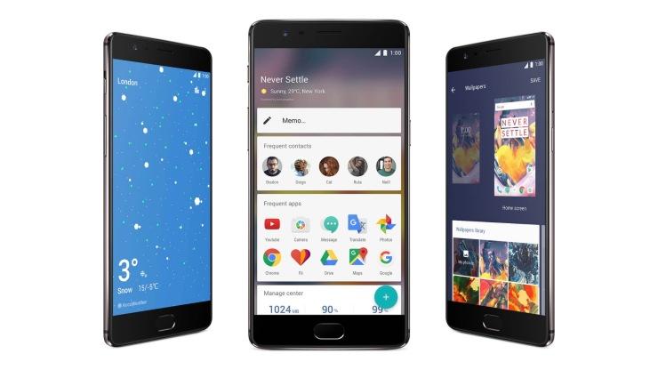 OnePlus 3T Oxygen OS